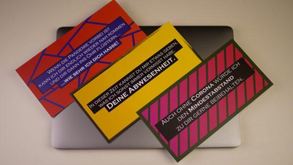 Corona Spruchkarten Postkarten Set