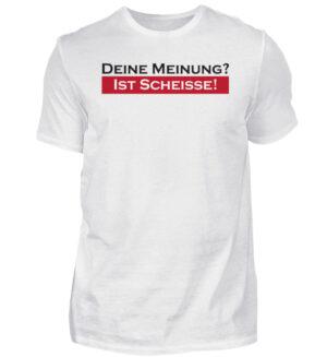 Shirt Spruch Meinung Scheiße Lustig