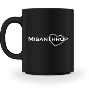 Lustige Tasse Misanthrop Arbeit Büro