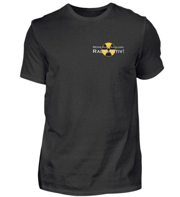 Ausstrahlung: Radioaktiv Statement Shirt Herren
