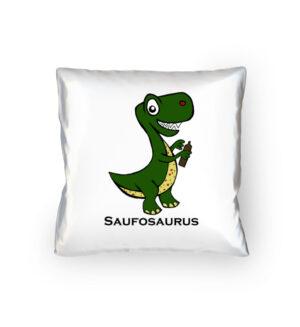 Saufosaurus Kopfkissen Lustig Alkohol Motiv