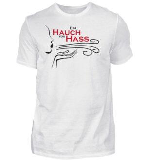 Herren Statement T-Shirt Hass Spruch